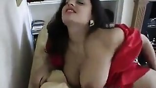 Beautiful Indian Housewife Being A Tease