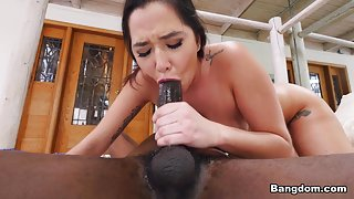 Karlee Grey in Kinky Karlee Grey Gets Saved By A Monstrous Cock - BangBros