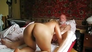 Russian blonde milf homemade sextape