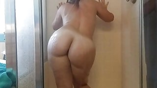 Shower time with pawg