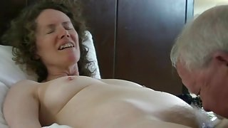 Mature sex couple