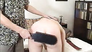 Ass Paddled Teen