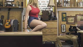 Big Titty Skyla Novea Giving Wicked Head In A Pawn Shop