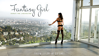 Lily Love & Seth Gamble in Fantasy Girl Video