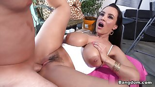 Lisa Ann in Busty Lisa Ann gets some anal Video