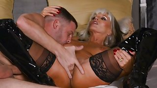 Granny Sally D'Angello Gets Anal