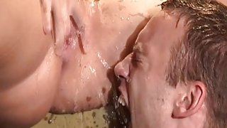 Crazy pornstar in fabulous brunette, interracial xxx clip