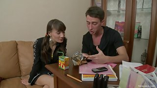 Irina Enjoys Sex After A Relaxing Time Together