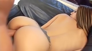 Capri has both of her gaping holes destroyed from bareback banging
